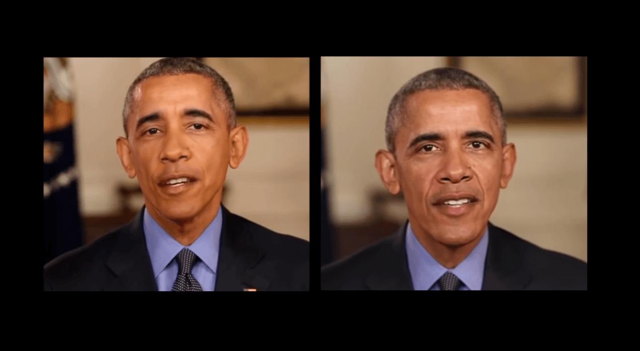 Tabletowo.pl Znajdź 10 różnic między Barackiem Obamą z lewej i z prawej. I zastanów się, dokąd zmierza technologia Ciekawostki Sztuczna Inteligencja Technologie