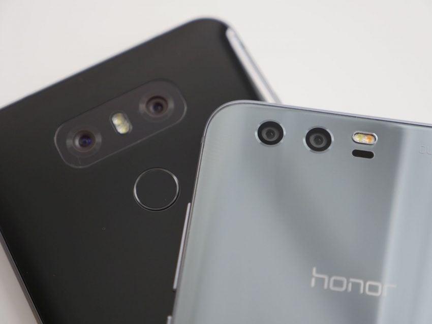 Porównanie: Honor 9 vs LG G6 121