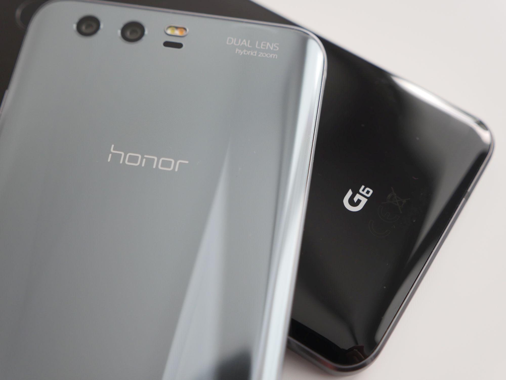 Porównanie: Honor 9 vs LG G6 20