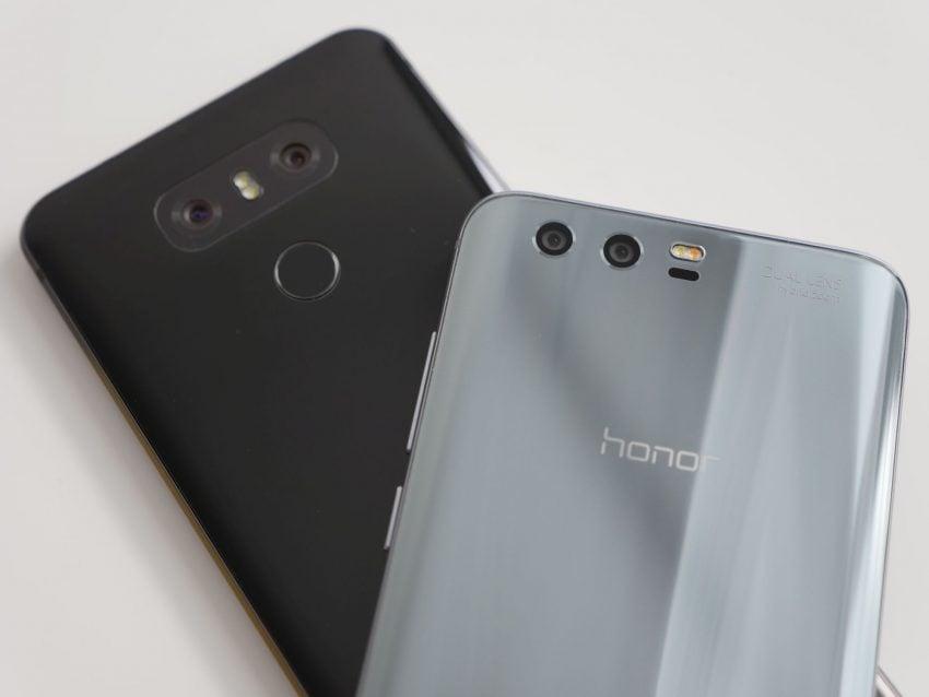 Porównanie: Honor 9 vs LG G6 21