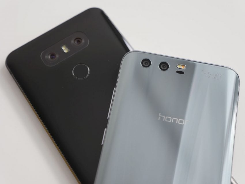 Tabletowo.pl Porównanie: Honor 9 vs LG G6 Android Huawei LG Porównania Smartfony