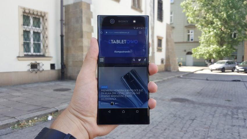 Recenzja Sony Xperia XA1 Ultra. Duży smartfon, duże możliwości? 34