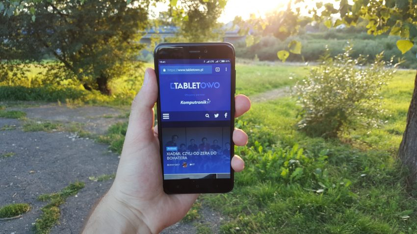Tabletowo.pl Recenzja Xiaomi Redmi 4X Android Recenzje Smartfony Xiaomi
