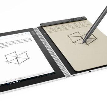 Tabletowo.pl Yoga Book od Lenovo pojawi się w dwóch nowych kolorach - czerwonym i białym Lenovo Tablety