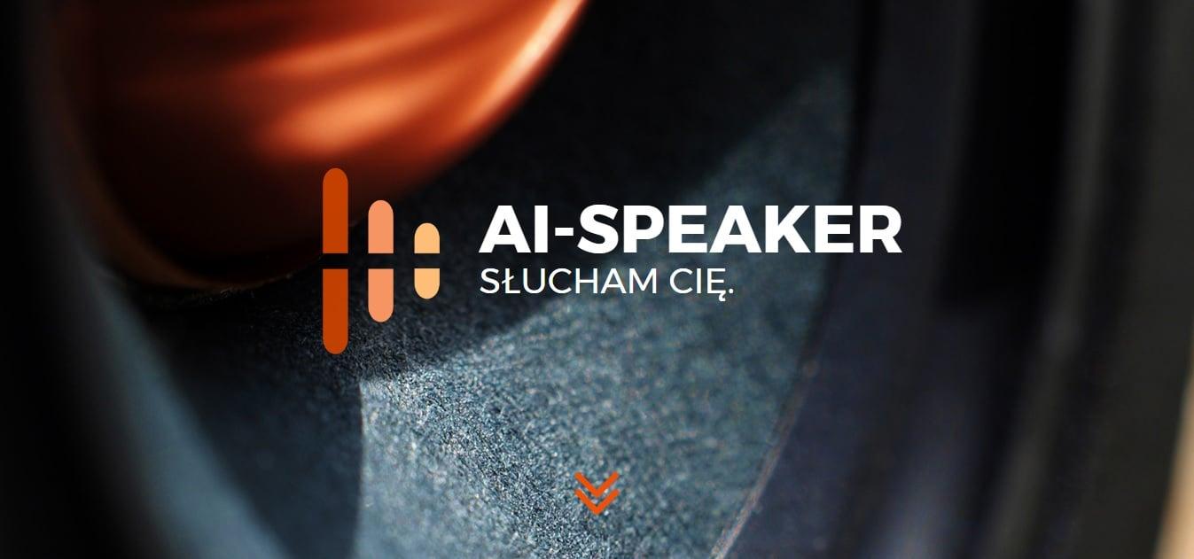 Tabletowo.pl AI Speaker może być pierwszym inteligentnym głośnikiem, z którym pogadamy sobie po polsku Sztuczna Inteligencja