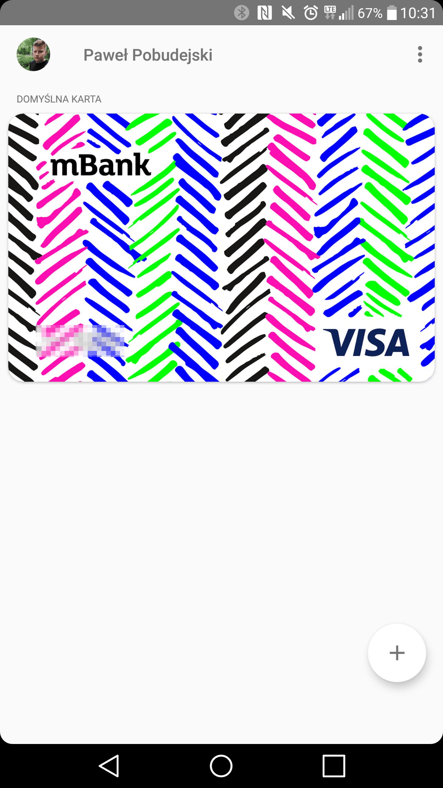 Android Pay W Mbanku Rowniez Dla Posiadaczy Kart Visa Wreszcie