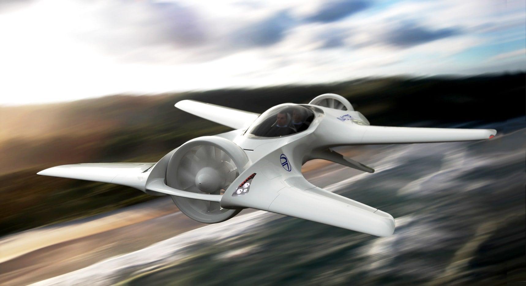 Nie dość, że autonomiczny i elektryczny, to na dodatek latający?