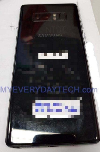 Tabletowo.pl Samsung Galaxy Note 8 - jest już prawdziwe zdjęcie, a nie jakaś tam grafika Plotki / Przecieki Samsung Smartfony