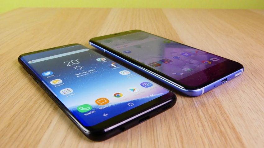 Tabletowo.pl Porównanie: Samsung Galaxy S8 vs HTC U11 Android HTC Porównania Samsung Smartfony