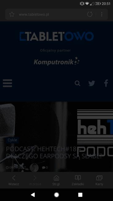 Tabletowo.pl Pojawiła się kolejna beta Samsung Browser, a wraz z nią usprawnienia, takie jak tryb nocny Aplikacje Nowości Samsung