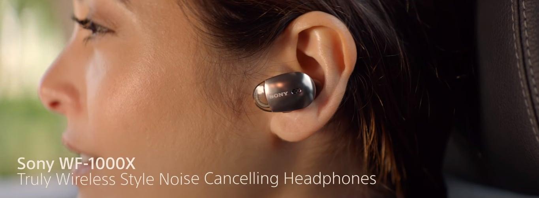 Sony WF-1000X to nowe słuchawki bezprzewodowe z aktywną redukcją szumów od Sony 22
