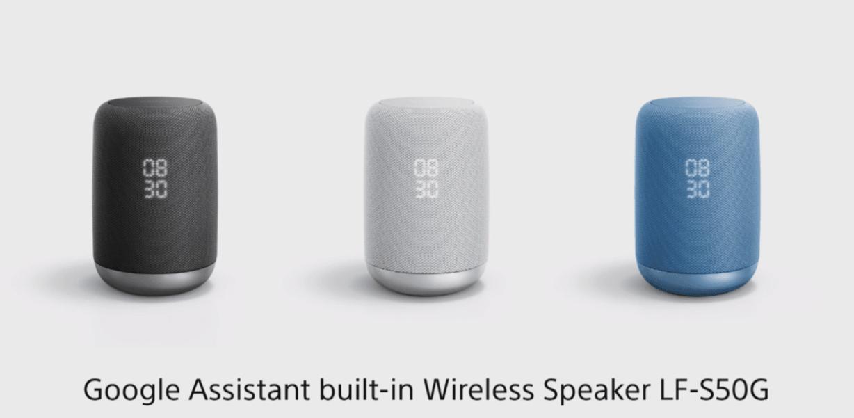 Nie tylko smartfony. Sony prezentuje inteligentny głośnik z Google Assistant 23