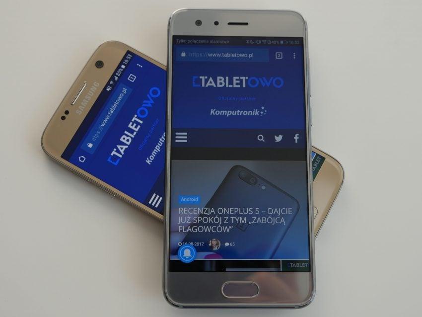 Tabletowo.pl Sprawdziłam, jak zeszłoroczny Samsung Galaxy S7 wypada w porównaniu z tegorocznym Honorem 9 - jesteście ciekawi? Android Huawei Porównania Samsung Smartfony