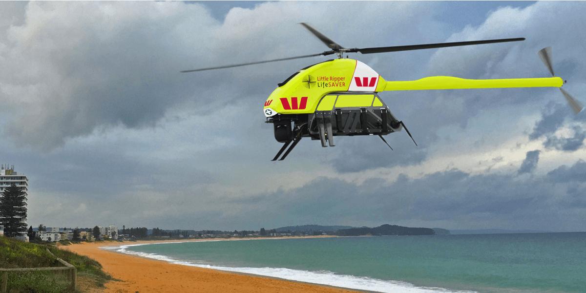 Tabletowo.pl Drony wykrywające rekiny będą latać nad Australią i alarmować zagrożonych pływających Ciekawostki Sprzęt Technologie