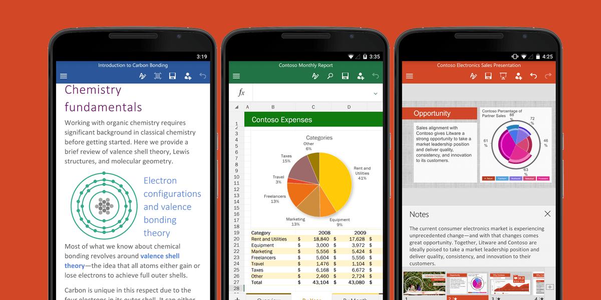 Microsoft zapowiada sporą aktualizację dla pakietu Office na Androida 20