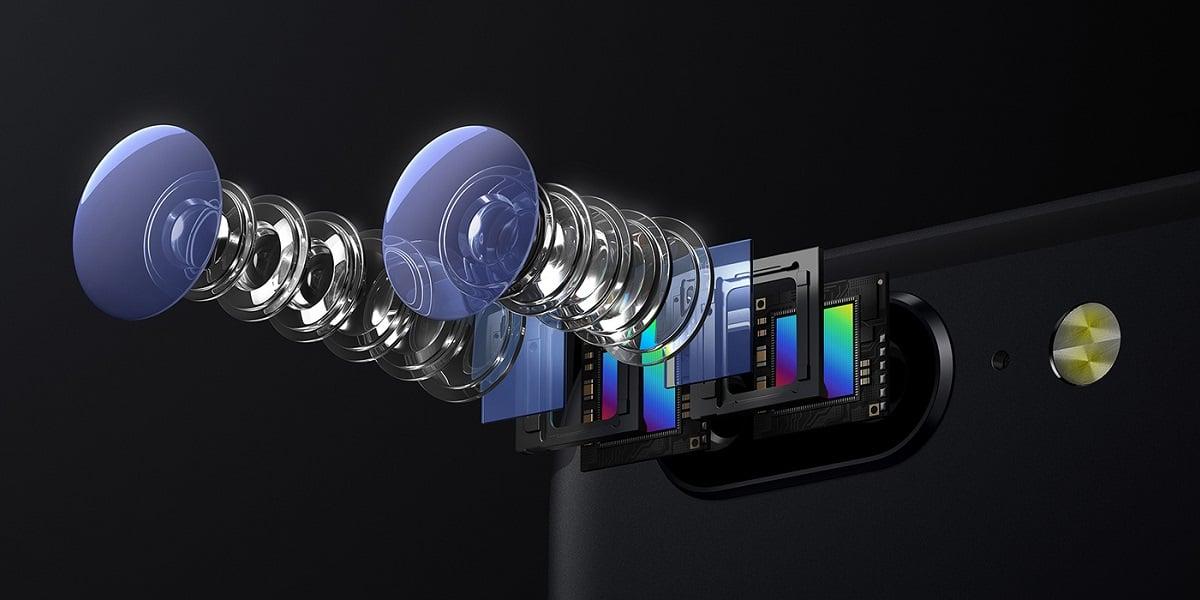 OnePlus 5 - soczewki