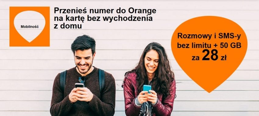 Tabletowo.pl Klęska urodzaju: przenosząc numer do Orange na kartę dostaniecie nawet 50 GB internetu miesięcznie GSM Promocje