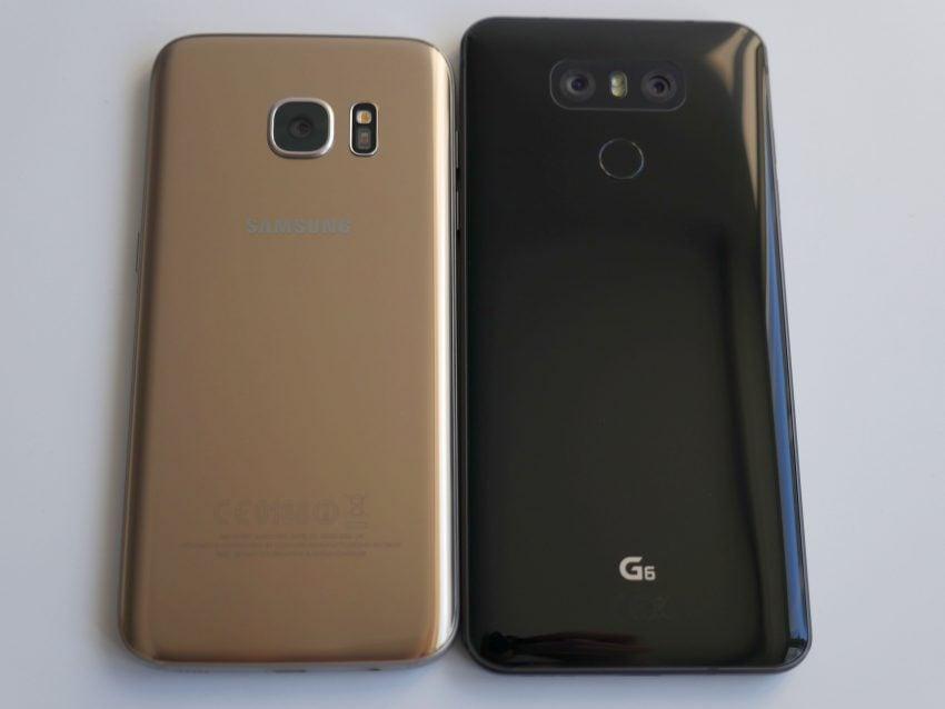 Jak wypada zeszłoroczny flagowiec Samsunga na tle tegorocznego flagowca LG? Porównanie: Samsung Galaxy S7 vs LG G6 131