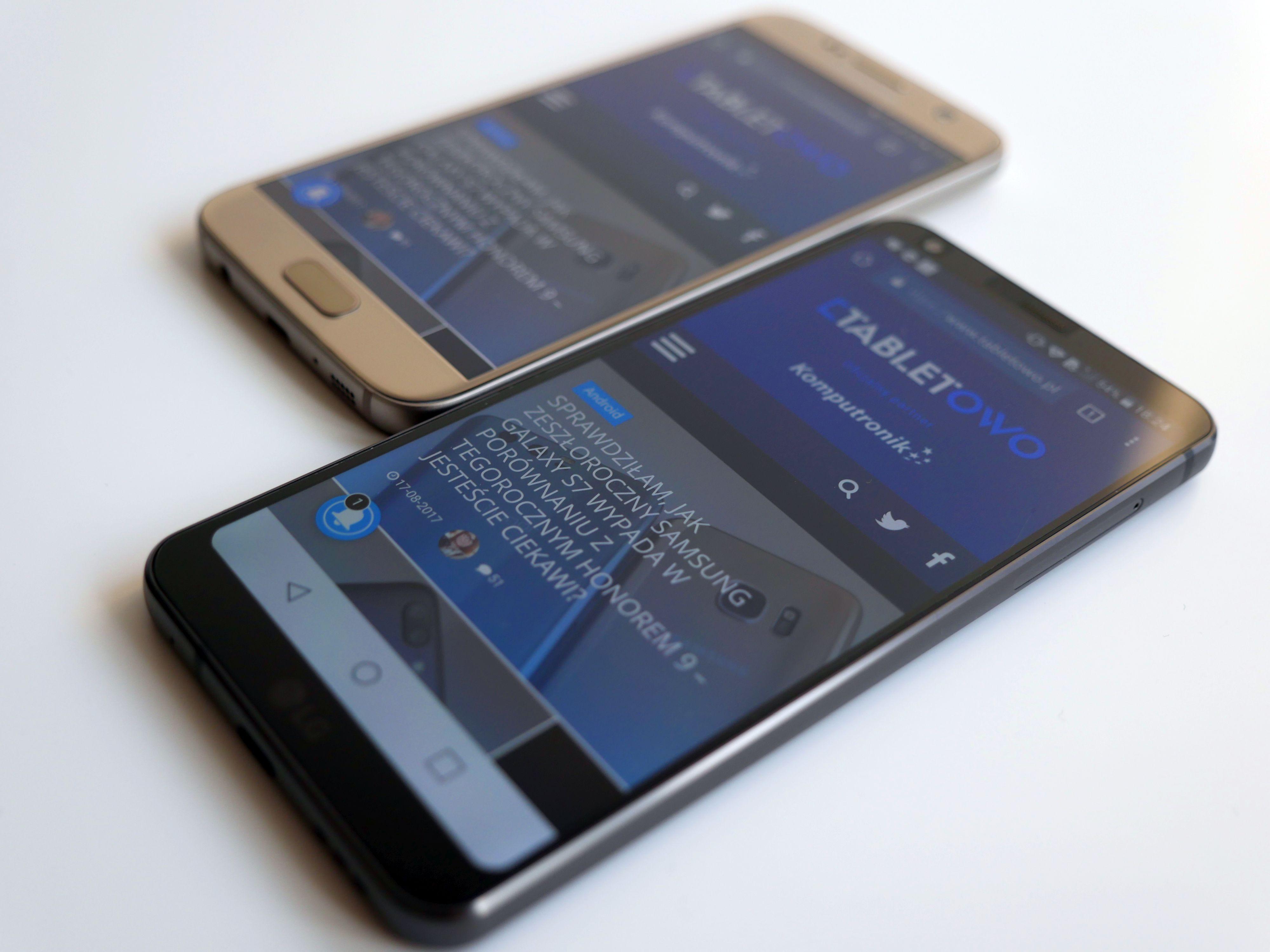 Jak wypada zeszłoroczny flagowiec Samsunga na tle tegorocznego flagowca LG? Porównanie: Samsung Galaxy S7 vs LG G6 21