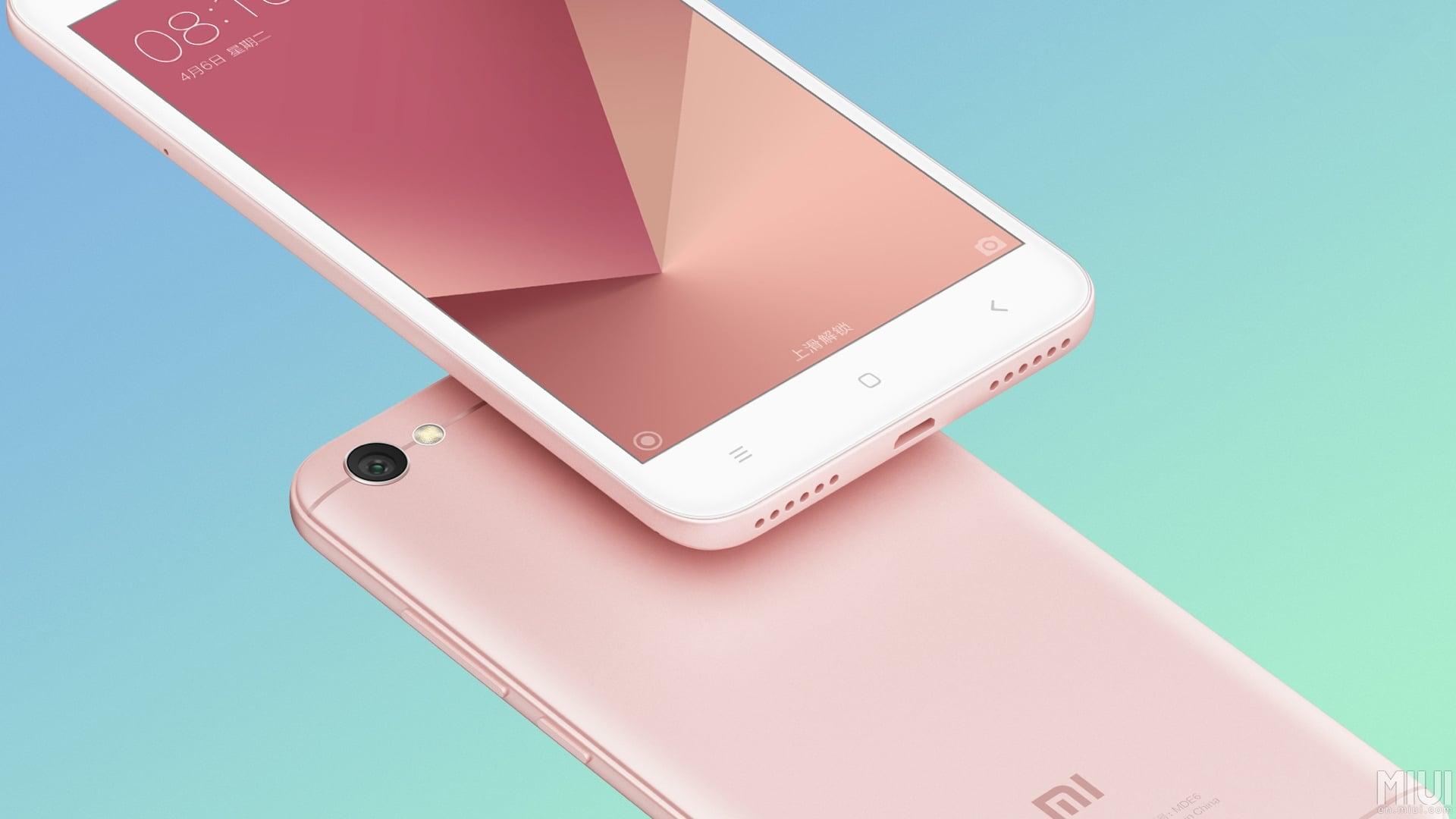 Tabletowo Premiera Xiaomi Redmi Note 5A Nie ma czytnika linii papilarnych i jest