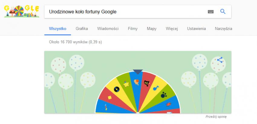 Tabletowo.pl Wyszukiwarka Google działa już od dziewiętnastu lat. Z tej okazji możemy zagrać w 19 mini-gier Ciekawostki Google
