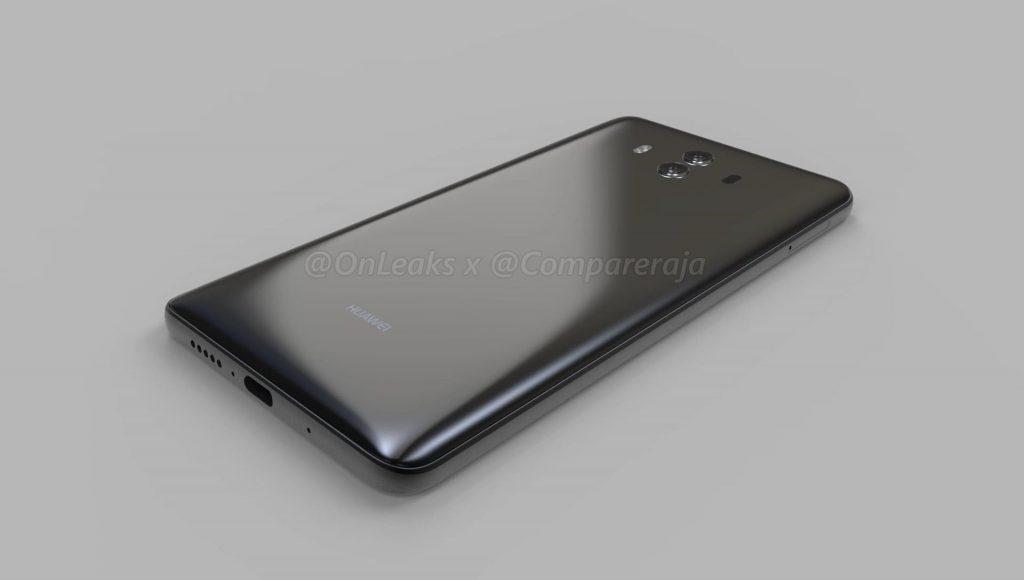 Tabletowo.pl Huawei Mate 10 na renderach. Jest kilka nowości Android Huawei Plotki / Przecieki Smartfony