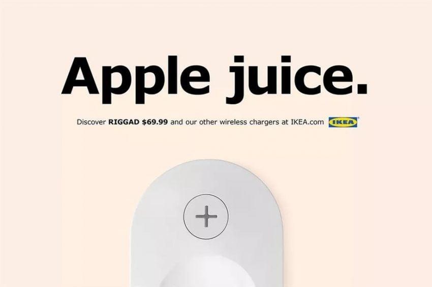 Tabletowo.pl Meble z IKEI, które naładują Ci smartfon bezprzewodowo - Szwedzi reagują na premierę iPhone'ów Apple Ciekawostki Technologie