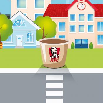Tabletowo.pl Porzucaj kurczakami do kubełka, a dostaniesz szansę wygrania kuponu na Wtorkowy Kubełek w KFC Konkursy