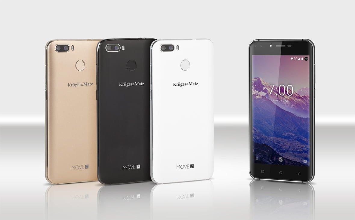 Tabletowo.pl Jak ktoś chce mieć cztery aparaty w smartfonie to już może. Za trochę ponad 300 złotych Android Kruger&Matz Nowości Smartfony