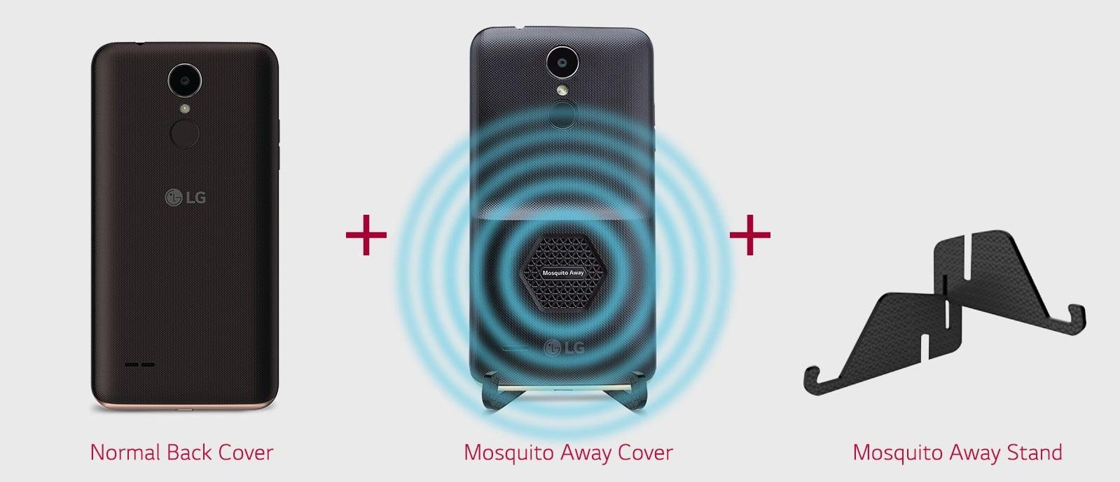 Tabletowo.pl Takiego smartfona jeszcze nie widzieliście - LG K7i ze specjalnym modułem odstraszającym komary Android LG Smartfony