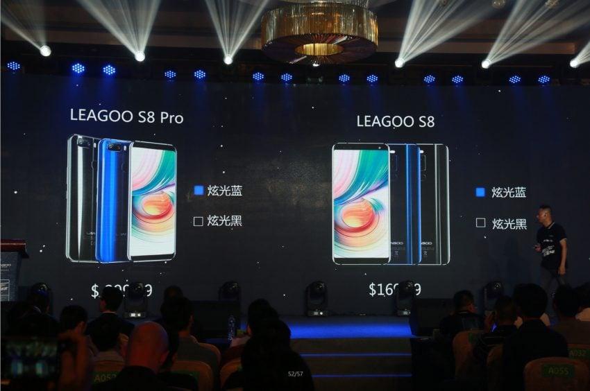 Tabletowo.pl Leagoo S8 oraz S8 Pro zaprezentowane. Proporcje ekranu 18:9 to już najwyraźniej standard Chińskie Nowości
