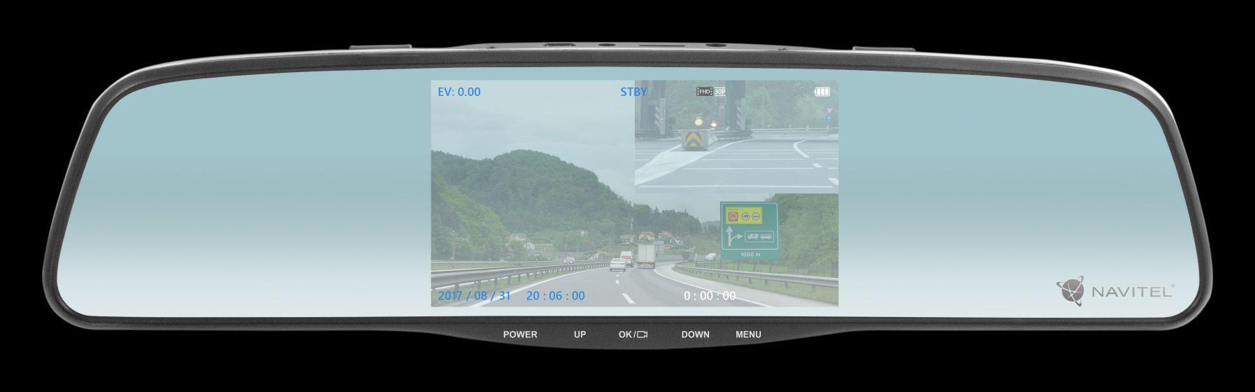 NAVITEL MR250 - lusterko wsteczne, wideorejestrator i kamera cofania w jednym już do kupienia w Polsce 20