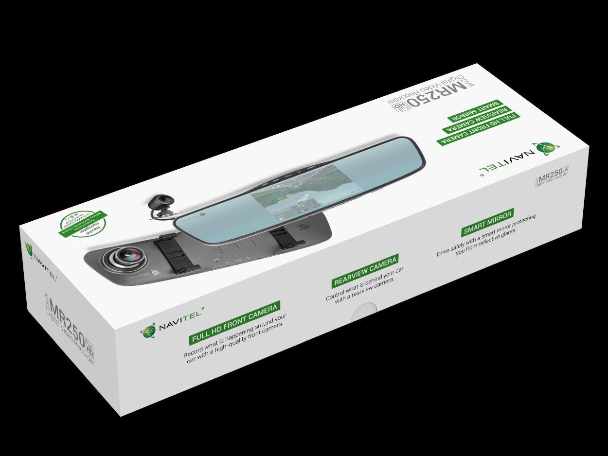 NAVITEL MR250 - lusterko wsteczne, wideorejestrator i kamera cofania w jednym już do kupienia w Polsce 23