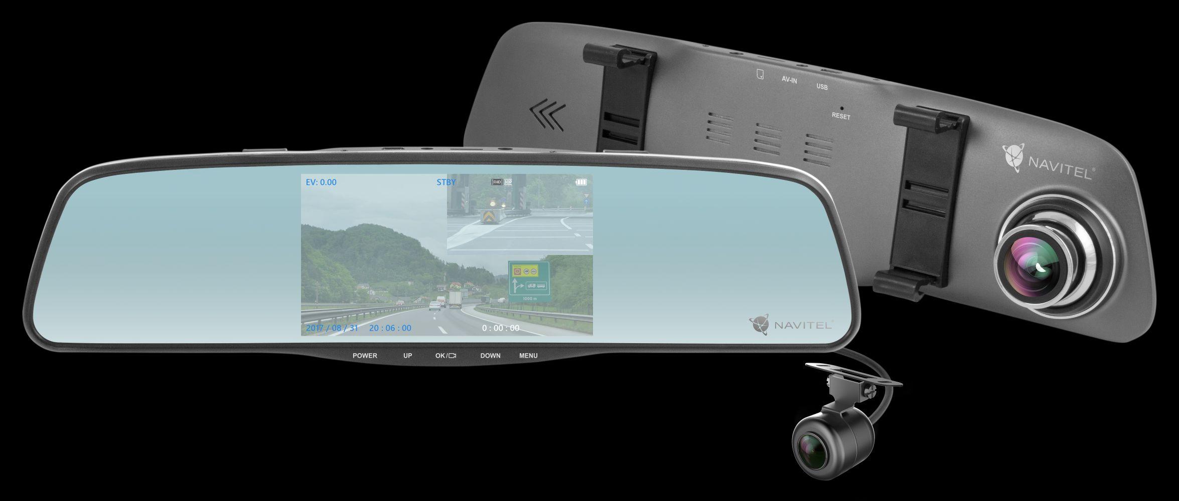 NAVITEL MR250 - lusterko wsteczne, wideorejestrator i kamera cofania w jednym już do kupienia w Polsce 19