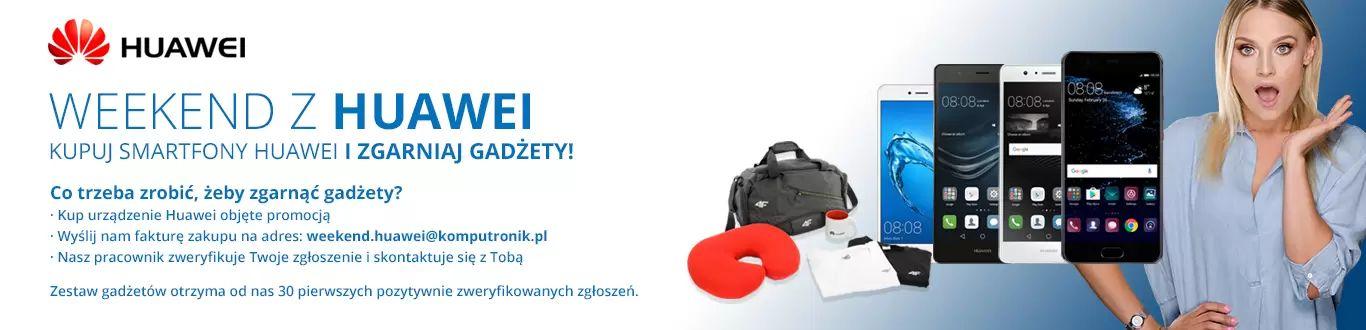 """Tabletowo.pl """"Weekend z Huawei"""", czyli kup jeden ze smartfonów Huawei, a dostaniesz torbę wypchaną prezentami Android Huawei Promocje Smartfony"""