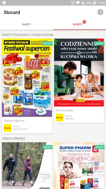 Tabletowo.pl Aplikacja tygodnia #1 - Stocard Aplikacje Cykle Recenzje Aplikacji/Gier