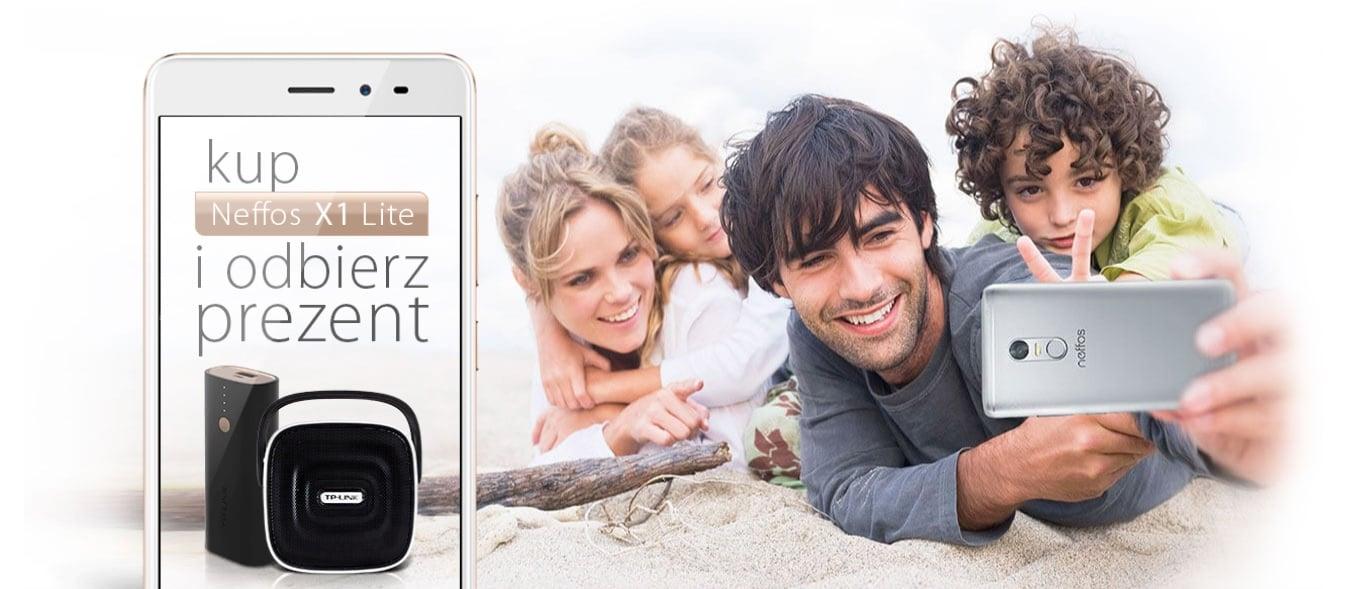 Tabletowo.pl Kup smartfon TP-Link Neffos X1 Lite, a dostaniesz w prezencie głośnik Bluetooth lub powerbank Android Promocje Smartfony