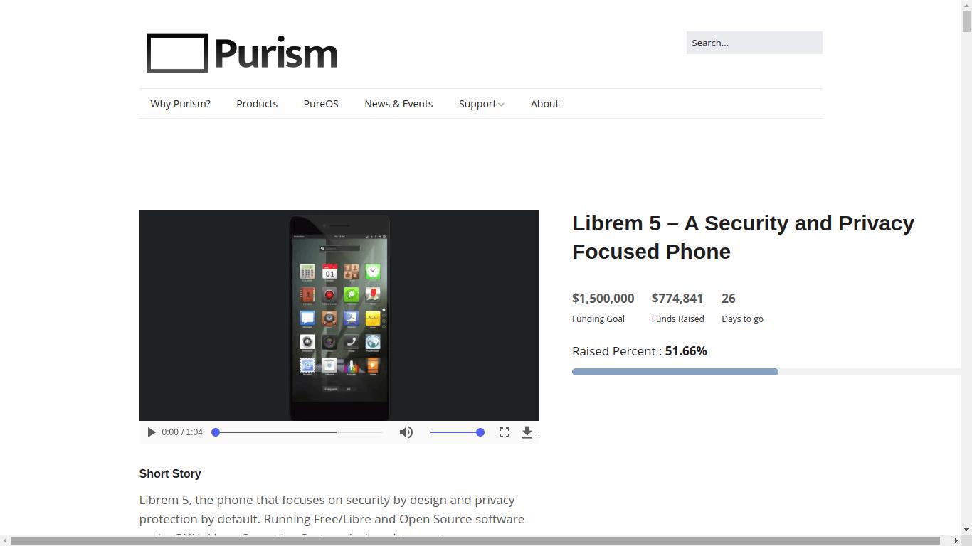 W skrócie: Redmi Note 4 z polskiej dystrybucji staniał. Zebrano już połowę środków na Librem 5 27