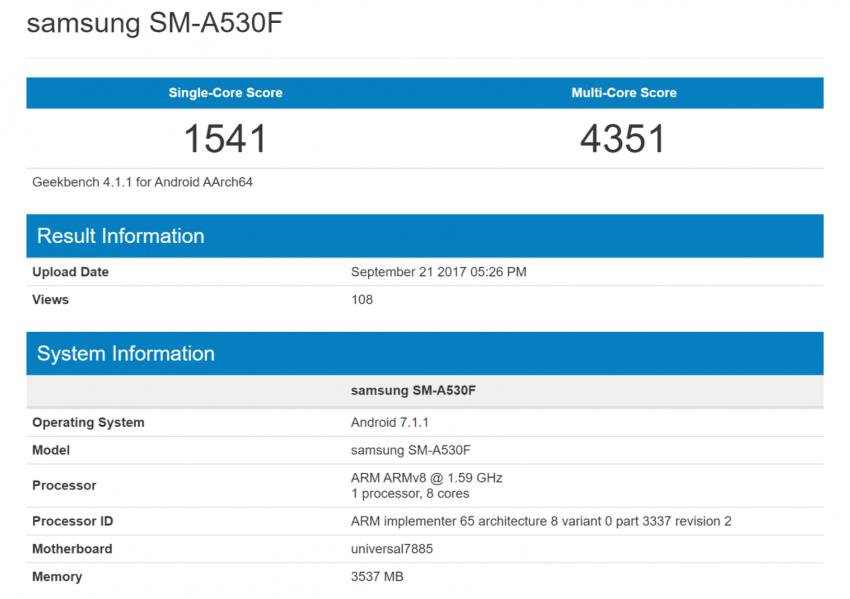 Tabletowo.pl Jeśli to się potwierdzi, to Galaxy A5 (2018) będzie miał najnowszy 10-nanometrowy procesor Samsunga pod maską Plotki / Przecieki Samsung Smartfony