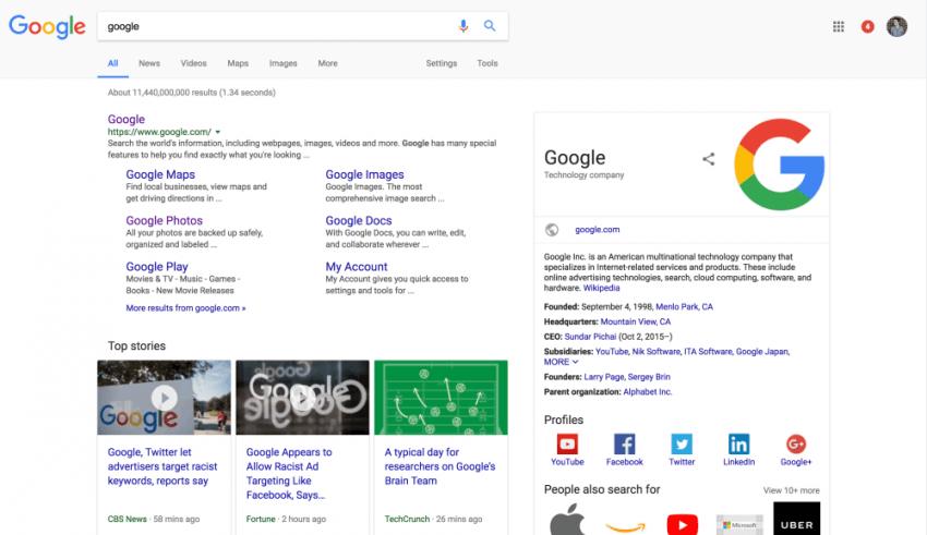 Tabletowo.pl Domena Google.com wczoraj obchodziła swoje dwudzieste urodziny Ciekawostki Google
