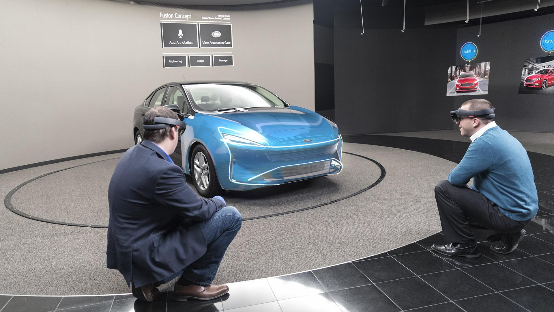 Ford będzie używać HoloLens podczas projektowania samochodów 26
