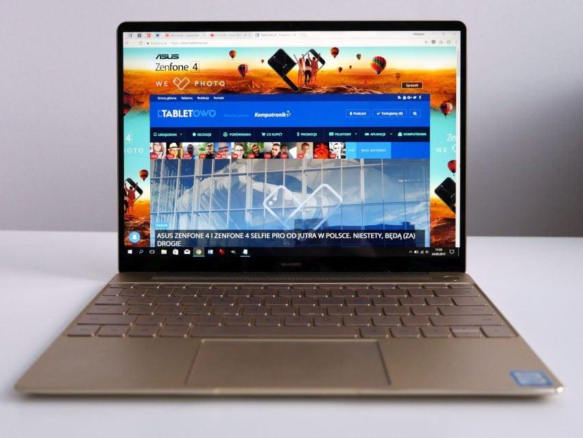Tabletowo.pl Recenzja MateBook X - jak wypadł debiut Huawei na rynku laptopów? Huawei Recenzje Windows