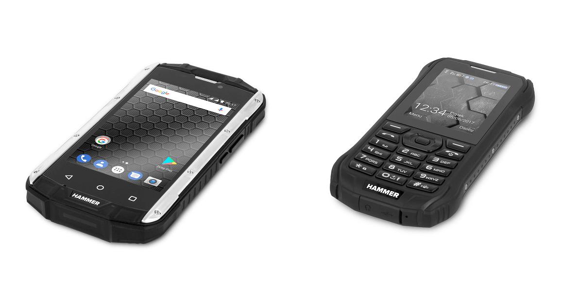 Tabletowo.pl Pancerne Hammer Titan 2 i Hammer Delta od poniedziałku do kupienia w Biedronce Android Nowości Smartfony
