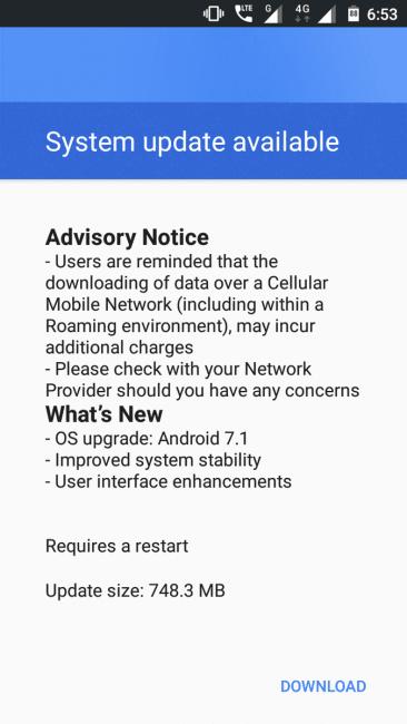 Tabletowo.pl Nokia 3 otrzymała aktualizację do Androida 7.1.1 Nougat. HMD Global prawie dotrzymało słowa Aktualizacje Android Nokia Smartfony