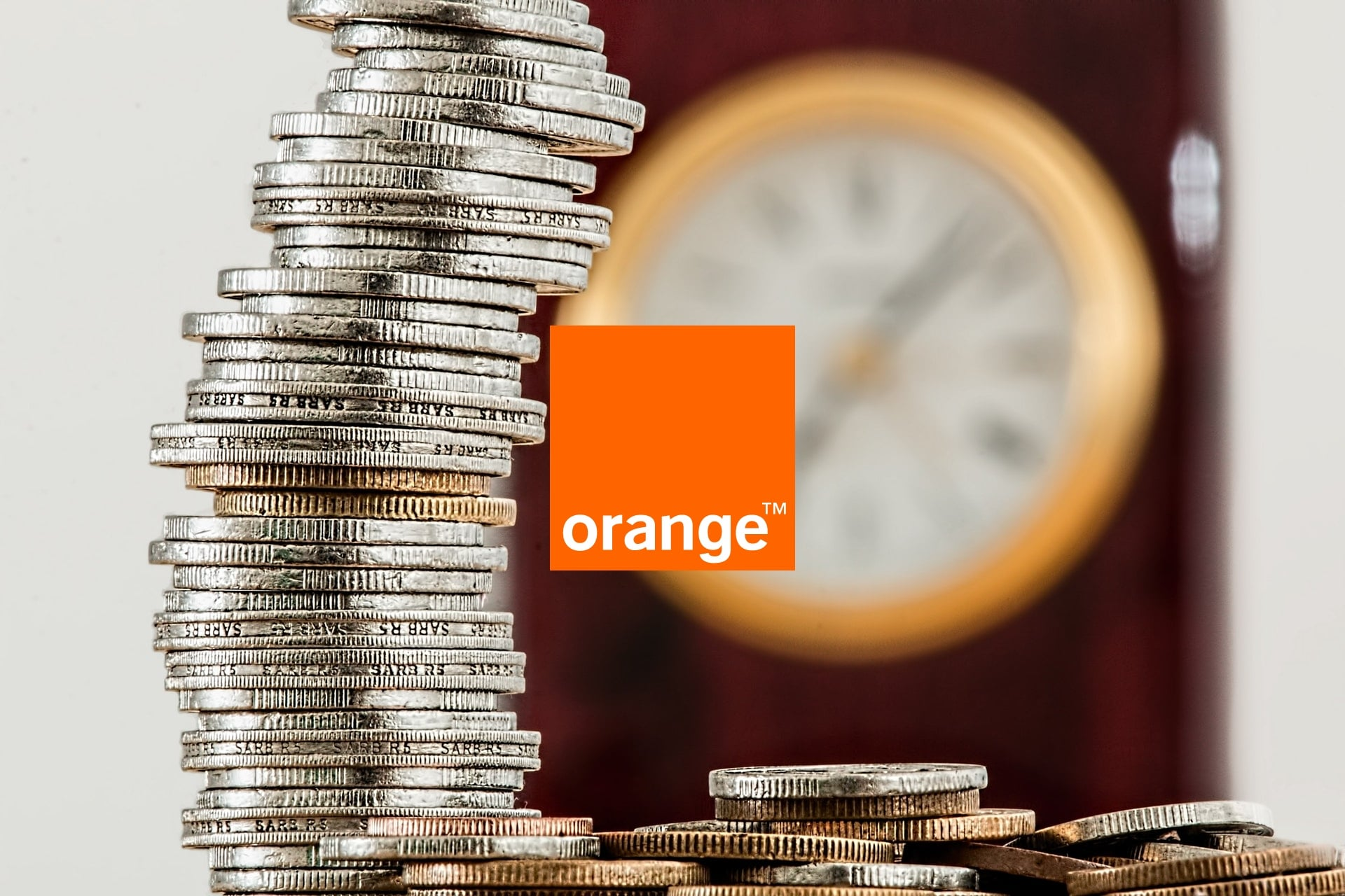 Orange pieniądze money