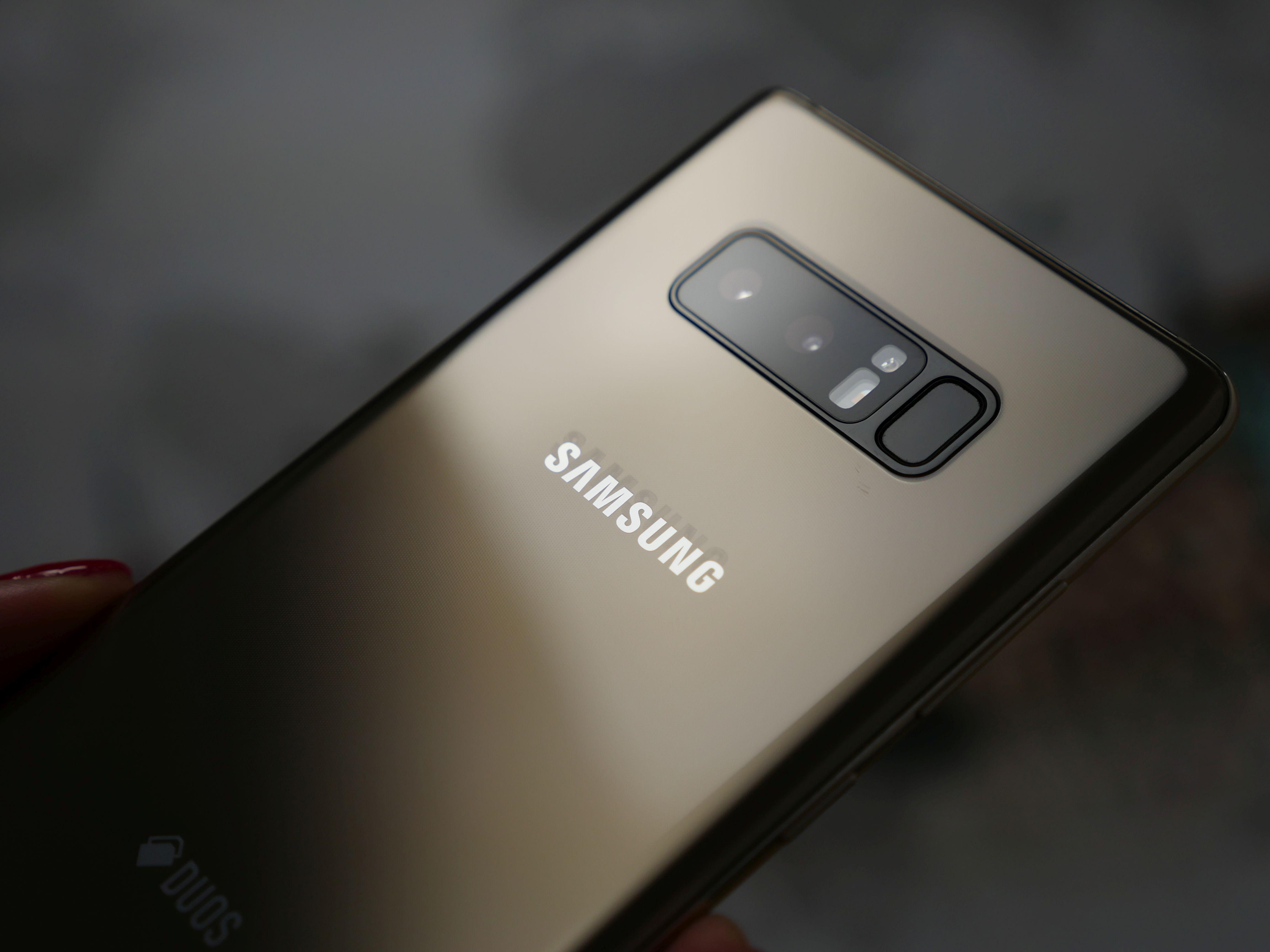 Pierwsi posiadacze Samsunga Galaxy Note 8 raportują otrzymanie Androida Pie