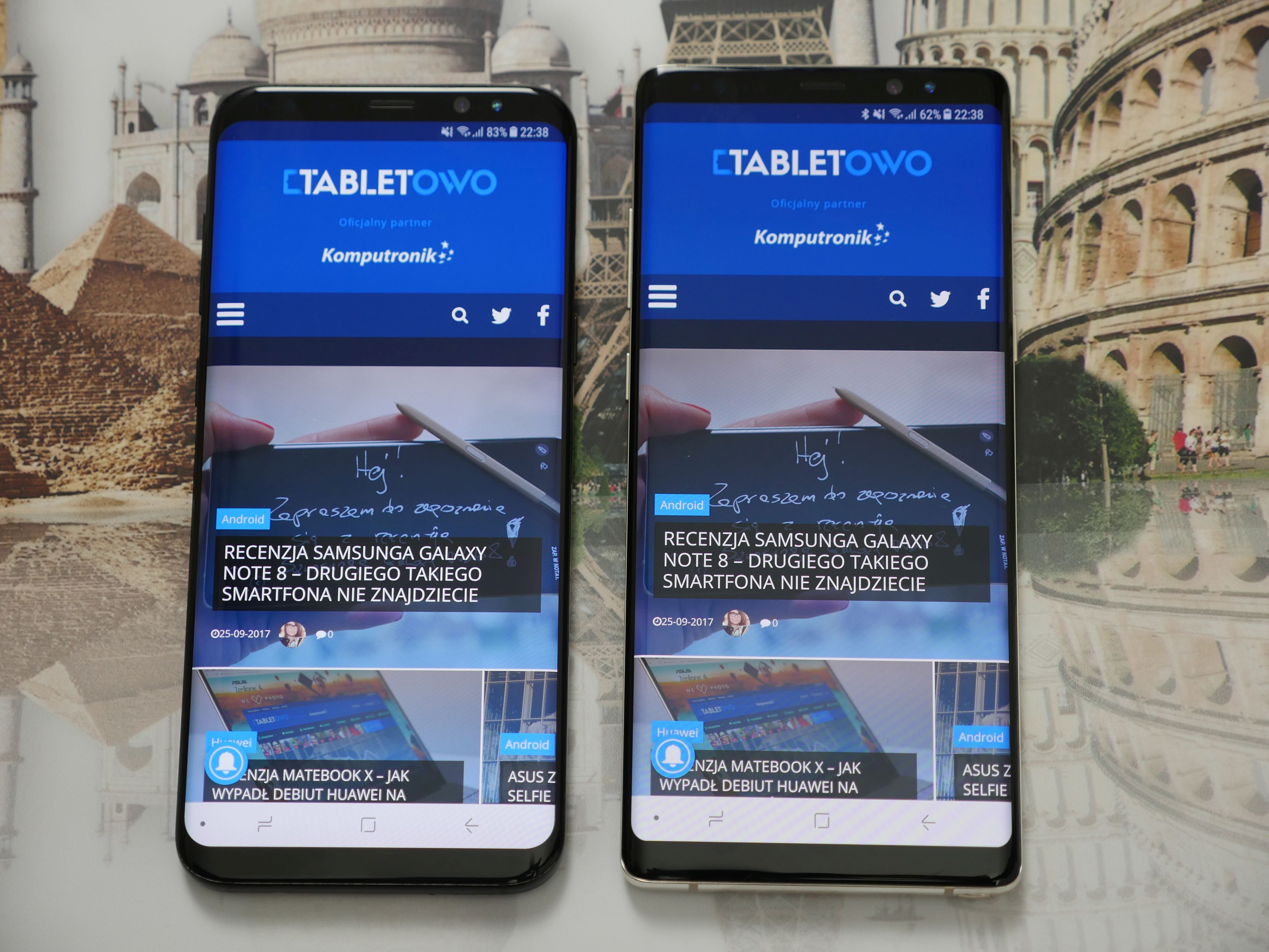Tabletowo.pl Tu nie ma złego wyboru: Samsung Galaxy Note 8 vs Samsung Galaxy S8 Plus Android Nowości Porównania Samsung Smartfony