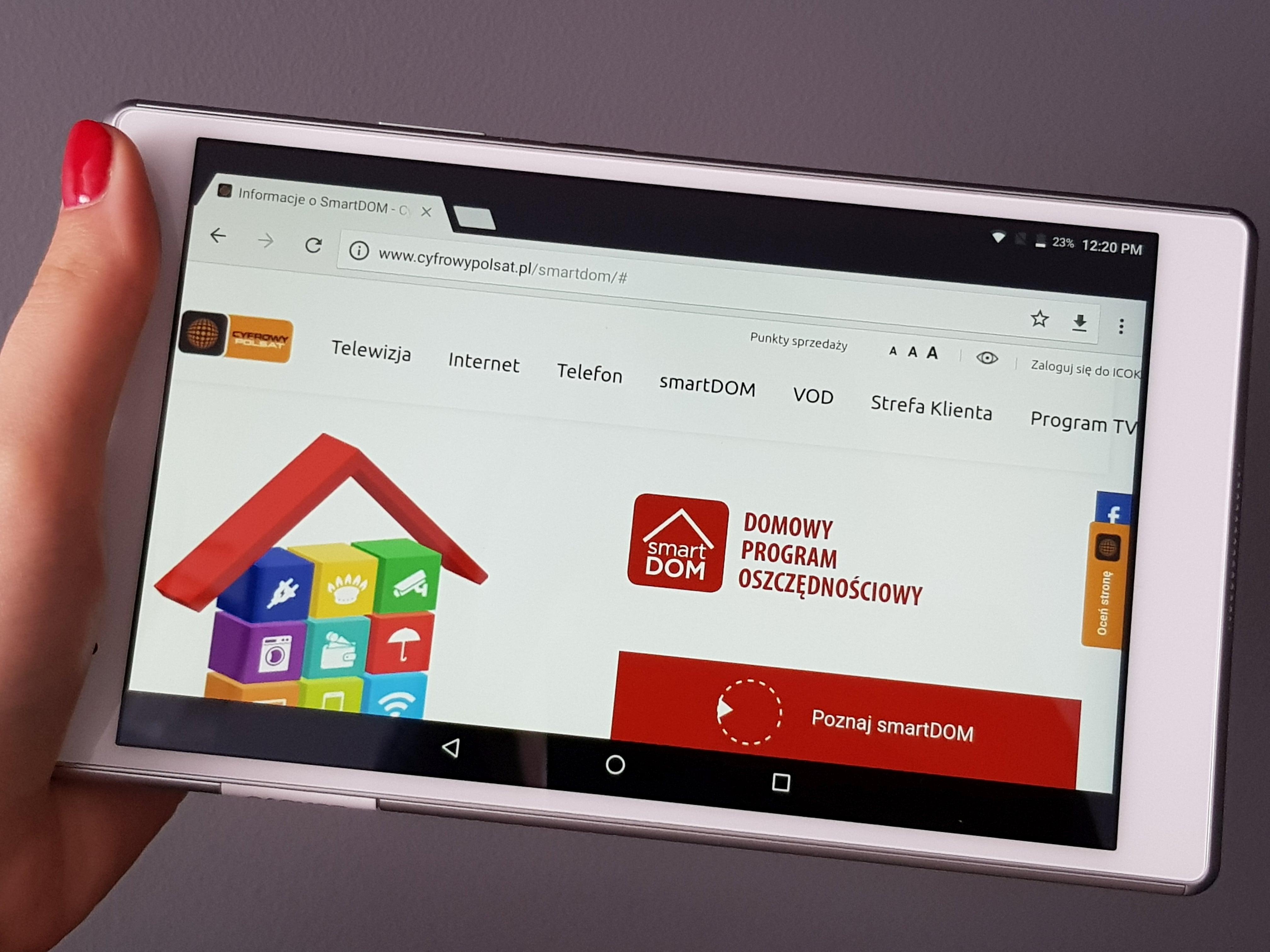 Tabletowo.pl smartDOM - im więcej usług, tym więcej oszczędności Nowości