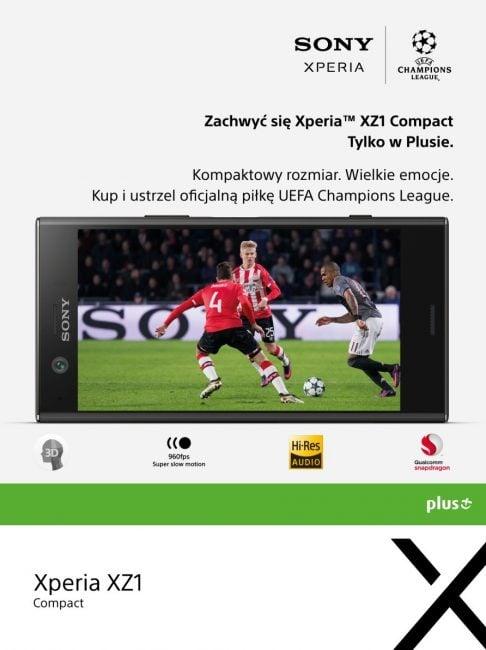 Tabletowo.pl Sony Xperia XZ1 Compact lada dzień trafi do sprzedaży w Plusie. Będą gratisy i konkursy GSM Smartfony Sony