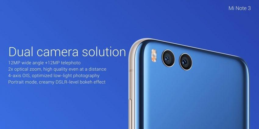 Tabletowo.pl Zadebiutował Xiaomi Mi Note 3. Ostatecznie z Mi 6 będzie miał wspólny tylko design Android Nowości Smartfony Xiaomi